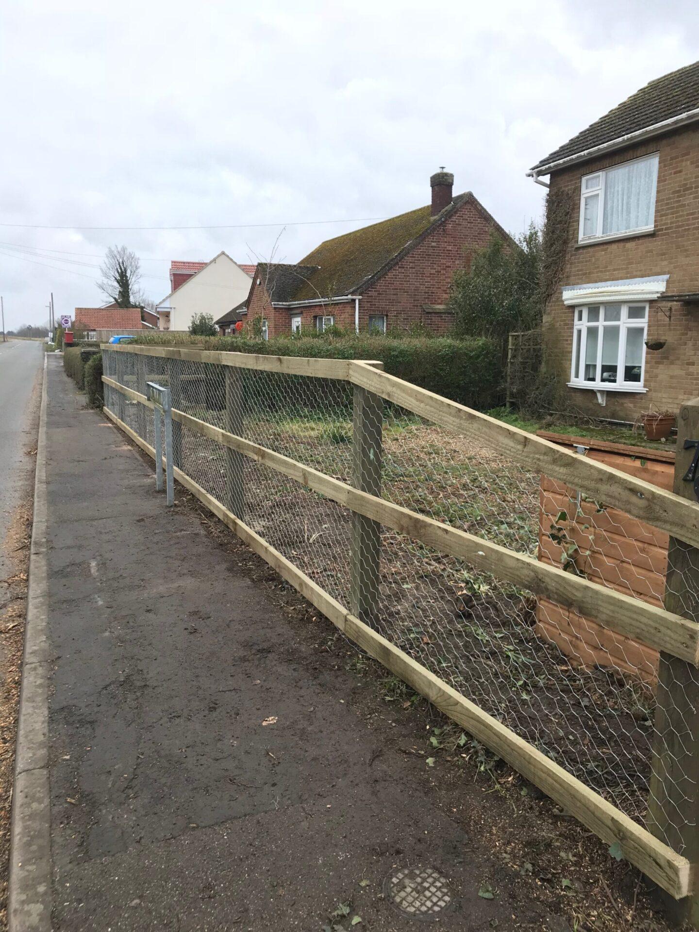 Post And Rail Fencing Cowbit
