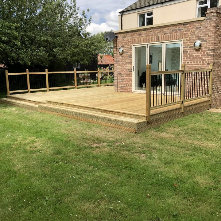 Decking in Spalding Lincolnshire