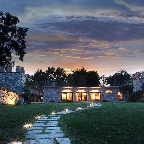 villa, estate, house